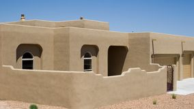 Hogar del desierto imagen de archivo libre de regalías
