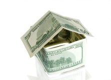 Hogar del dinero foto de archivo libre de regalías