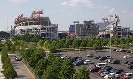 Hogar del estadio del campo de LP de Tennessee Titans Fotos de archivo libres de regalías