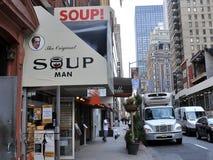Hogar del hombre original de la sopa Imagenes de archivo