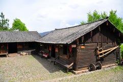 Hogar del Local del chino Imágenes de archivo libres de regalías