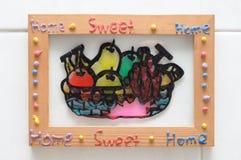 Hogar dulce casero Imagen de archivo