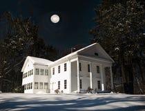 Hogar en la noche Imagen de archivo