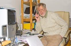 Hogar, funcionamiento de la oficina. Foto de archivo