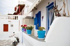 Hogar griego Foto de archivo libre de regalías