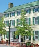 Hogar histórico en Smyrna Delaware Foto de archivo libre de regalías