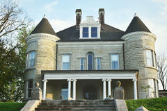 Hogar histórico - Georgetown, Kentucky imagen de archivo