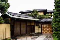 Hogar japonés Fotografía de archivo libre de regalías