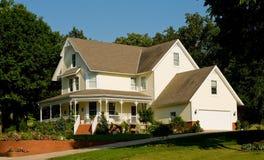 Hogar o casa hermoso Foto de archivo libre de regalías