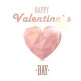 hogar para el día de tarjeta del día de San Valentín Imagen de archivo libre de regalías