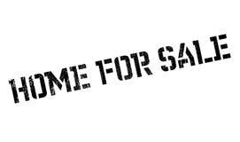Hogar para el sello de goma de la venta Imágenes de archivo libres de regalías
