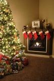 Hogar para la Navidad Foto de archivo libre de regalías