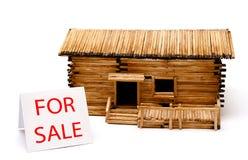 Hogar para la venta. Foto de archivo