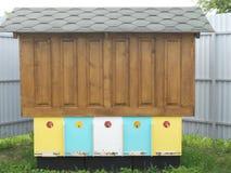 Hogar para las abejas Imágenes de archivo libres de regalías