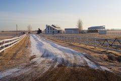 Hogar rural Foto de archivo libre de regalías