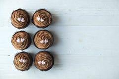 Hogar sabroso hecho dulces cocidos del mollete del cumpleaños Productos deliciosos de la panadería malos para la figura Dulces ma imagen de archivo libre de regalías