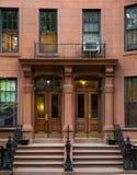 Hogar típico en Nueva York Fotografía de archivo