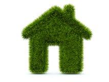 Hogar verde de la hierba libre illustration