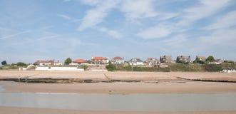 Hogares de la costa Foto de archivo