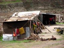 Hogares de los pobres Imagen de archivo