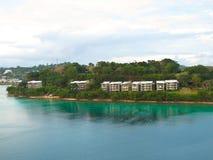 Hogares de Vanuatu Imágenes de archivo libres de regalías