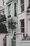 Hogares del pastel de Notting Hill Fotos de archivo