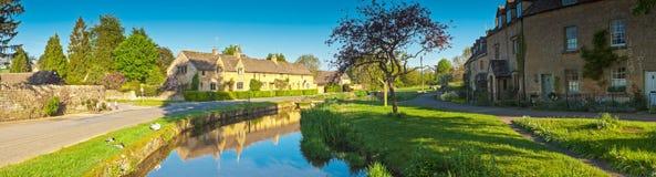 Hogares rurales, Cotswold, Reino Unido imágenes de archivo libres de regalías