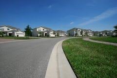 Hogares suburbanos Imagen de archivo libre de regalías