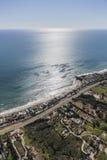 Hogares y estados de la costa de Malibu Fotografía de archivo