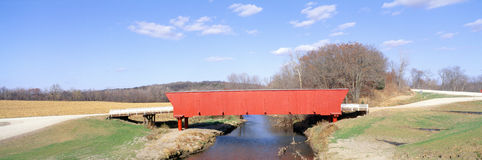Hogback Covered Bridge Stock Photography