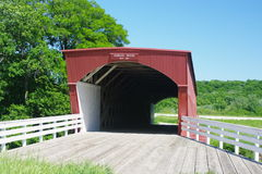 Hogback Covered Bridge in Madison County Stock Photos