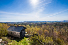 Hogback Mountain Scenic Overlook in Green Mountain State Park in Royalty Free Stock Photo