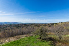 Hogback Mountain Scenic Overlook in Green Mountain State Park in Stock Image