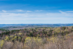 Hogback Mountain Scenic Overlook in Green Mountain State Park in Stock Photography