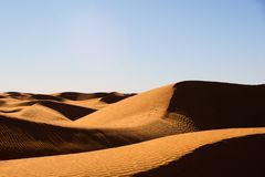 Hogbacked dunes Stock Photo