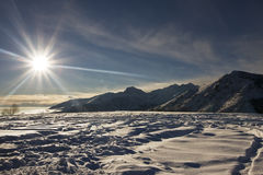 Hoge berg Stock Fotografie