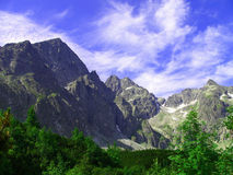 Hoge Bergen Tatras Royalty-vrije Stock Fotografie