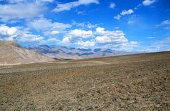 Hoge Bergwoestijn Royalty-vrije Stock Afbeeldingen