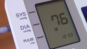 Hoge bloeddruk stock video