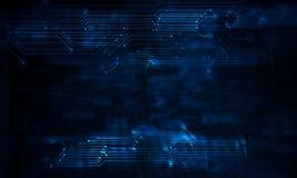 Hoge computertechnologie vector illustratie