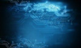 Hoge computertechnologie stock illustratie