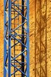 Hoge contrastkraan Stock Foto's