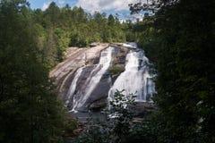 Hoge Dalingen van de Staat Forest North Carolina van Dupont stock foto