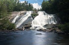 Hoge Dalingen van de Staat Forest North Carolina van Dupont stock fotografie