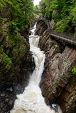 Hoge Dalingenkloof, Adirondack-Bergen Royalty-vrije Stock Foto