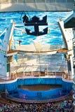 Hoge de cruise duikt Stock Foto