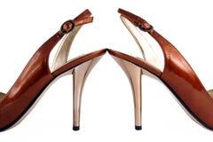 Hoge de dames hielen schoenen royalty-vrije stock foto's