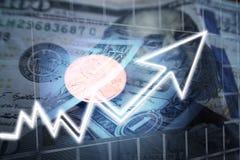 Hoge dividenden & Kapitaalwinst - kwaliteit royalty-vrije stock fotografie