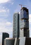 Hoge gebouwen Royalty-vrije Stock Afbeeldingen
