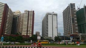 Hoge gebouwen Stock Afbeelding
